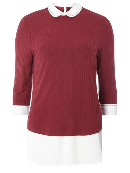 Dorothy Perkins Stab Stitch 2in1 Top