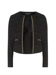 Dorothy Perkins Boucle Chain Jacket