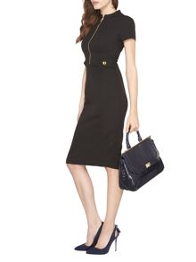 Dorothy Perkins Zip Tab Dress