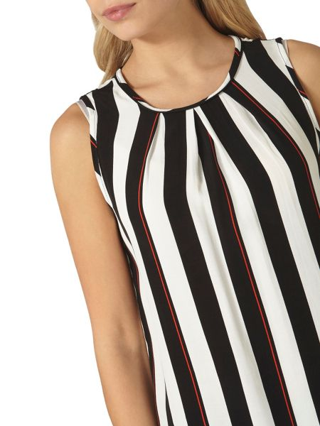 Dorothy Perkins Stripe Built Up Top