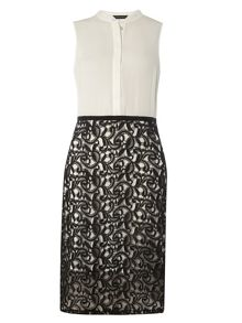 Dorothy Perkins 2in1 Lace Skirt Pencil Dress