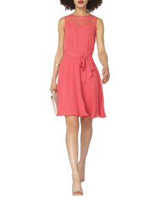 Dorothy Perkins Billie and Blossom Lace Insert Dress