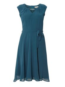 Dorothy Perkins Billie and Blossom Chiffon Belt Dress