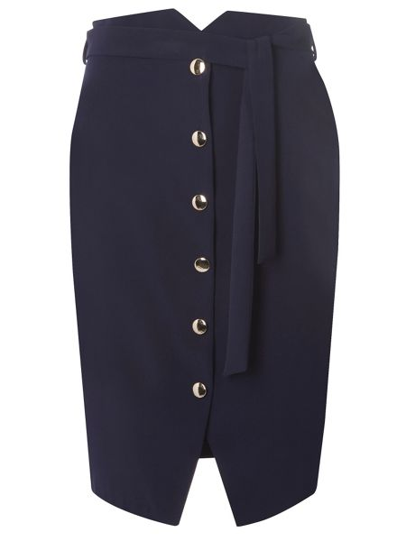 Dorothy Perkins Button Front Skirt