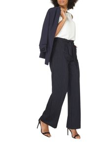 Dorothy Perkins Pinstripe Wide Leg Trousers