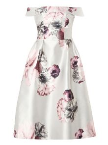 Dorothy Perkins Luxe Bloom Bardot Prom Dress