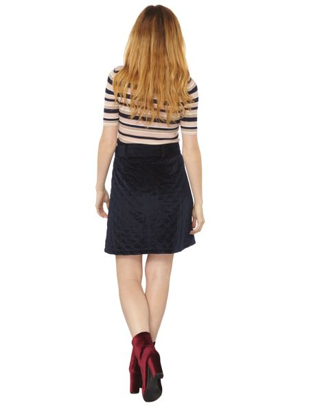 Dorothy Perkins Quilted Belt Skirt