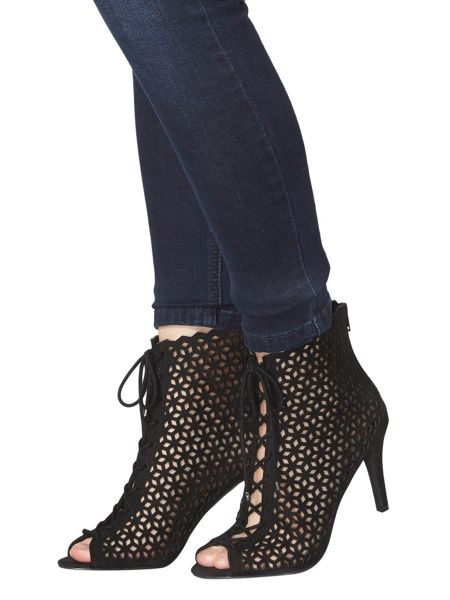 Dorothy Perkins Alzar Cut Out Heel Boots