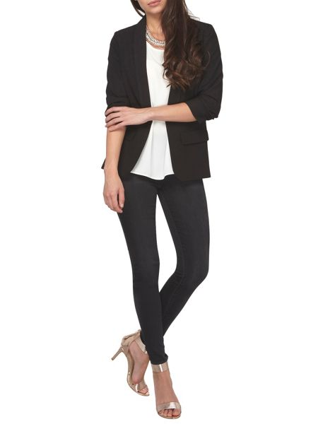 Dorothy Perkins Petite Ruched Blazer