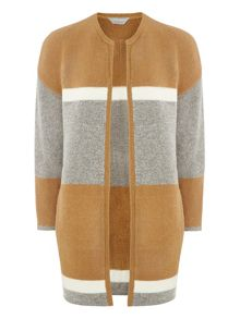 Dorothy Perkins Petite Colour Block Coatigan