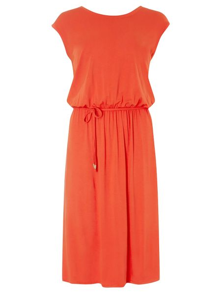 Dorothy Perkins Tall V Back Midi Dress