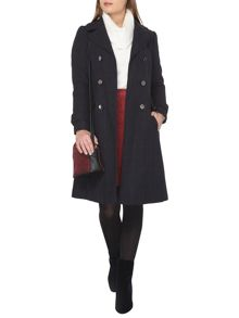 Dorothy Perkins Petite Check Coat