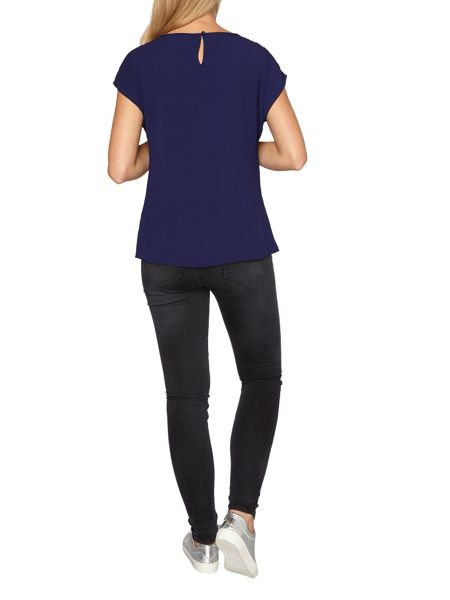 Dorothy Perkins Side Zip Detailed T-Shirt