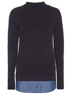 Tall Ribbed 2 in 1 Jumper
