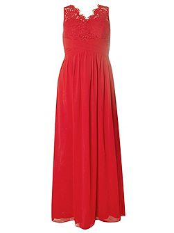 Showcase Josie V-Neck Maxi Dress