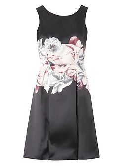 Luxe Floral Prom Dress