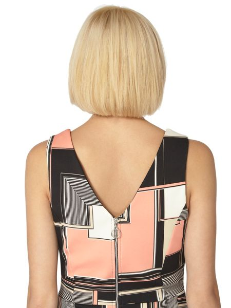 Dorothy Perkins Geo Scuba Pencil Dress