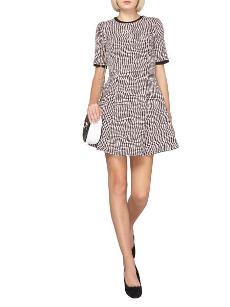 Dorothy Perkins Geo Spot Fit and Flare Dress