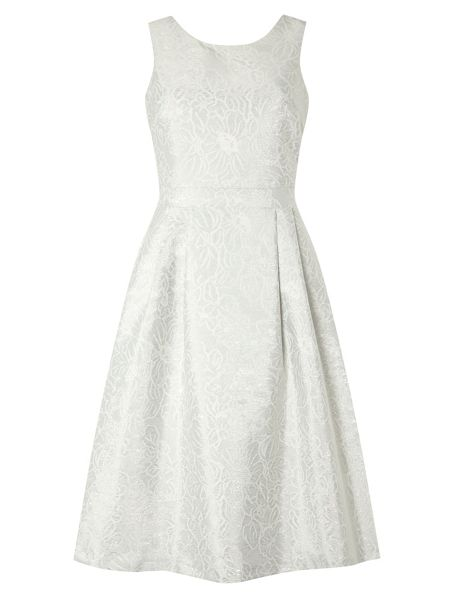 Dorothy Perkins Luxe Slash Neck Prom Dress
