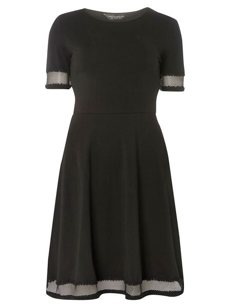 Dorothy Perkins Lace Trim Dress