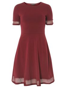 Dorothy Perkins Lace Detail Dress