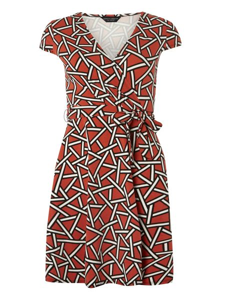Dorothy Perkins Geo Wrap Dress