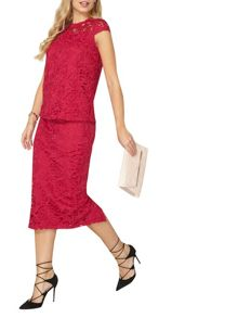 Dorothy Perkins Lace Pencil Skirt