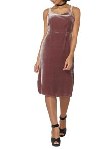 Dorothy Perkins Velvet Slip Dress