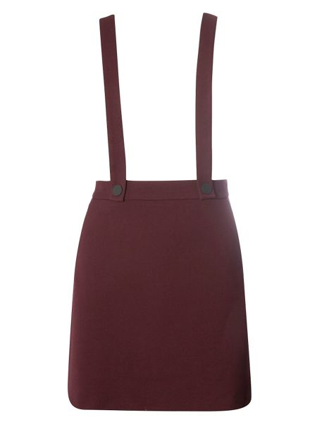 Dorothy Perkins Mini Skirt With Braces