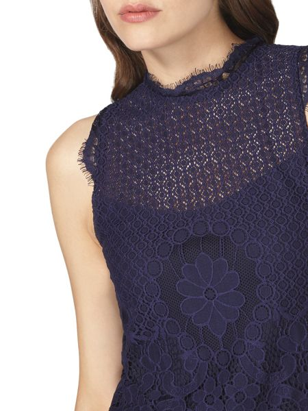 Dorothy Perkins Lace Victoriana Top