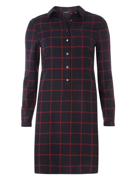 Dorothy Perkins Check Shirt Dress