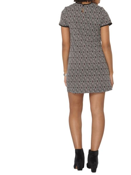 Dorothy Perkins Geo Spot Shift Dress
