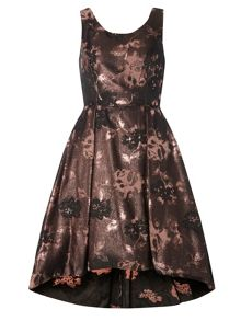Dorothy Perkins Luxe Jacquard Hi-Low Prom Dress