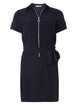 Petite Pocket Shirtdress