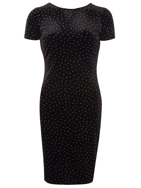 Dorothy Perkins Spot Bodycon Dress