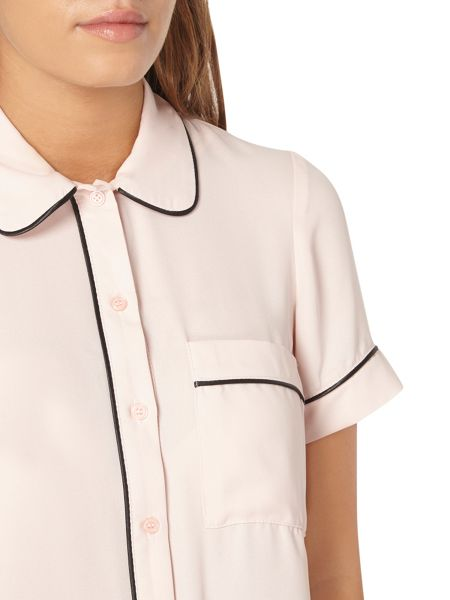 Dorothy Perkins Petite Piped Shirt