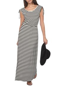 Dorothy Perkins Petite Stripe Maxi Dress