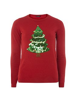 Sequin Christmas T-Shirt