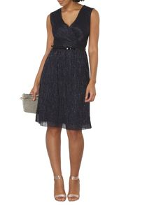 Dorothy Perkins Billie and Blossom Plisse Midi Dress