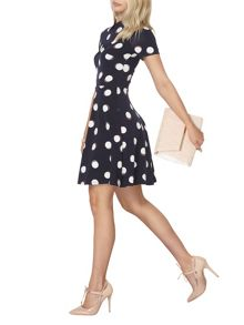 Dorothy Perkins Spot Collar Dress