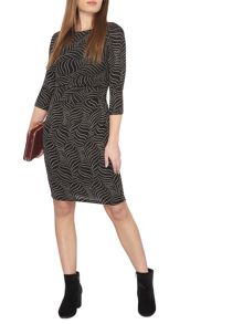 Dorothy Perkins Billie Black Label Petite Long Sleeve Bodycon Dre