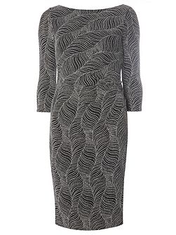 Billie Black Label Glitter Bodycon Dress