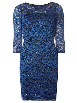 Billie Black Label Lace Bodycon Dress