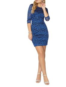 Dorothy Perkins Billie Black Label Lace Bodycon Dress