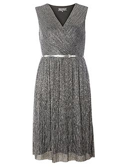 Billie Black Label Mesh Plisse Dress