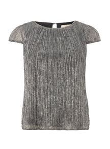 Dorothy Perkins Billie and Blossom Petite Plisse Top