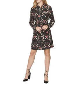 Dorothy Perkins Floral Print Shirt Dress