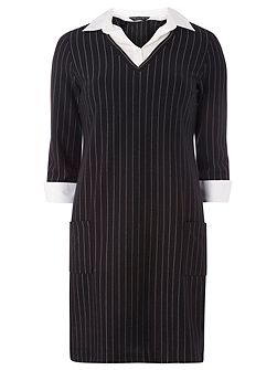 Stripe 2In1 Dress