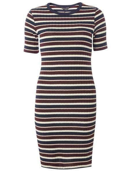 Dorothy Perkins Short Lurex Tube Dress