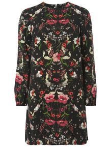 Dorothy Perkins Floral Print Shift Dress